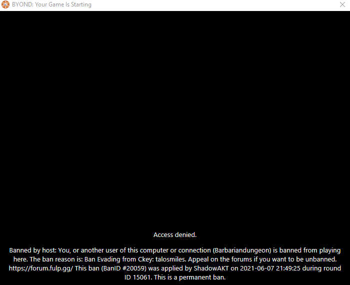 fulp station ban